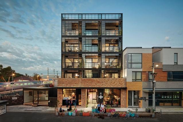 Nightingale 1, Winner of sustainability award in '2018 Australian Housing Awards'